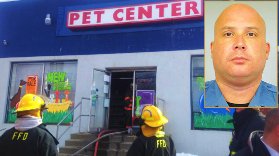 Police Officer Recovers In Hospital After Saving Dozens Of Animals From Pet Center Fire