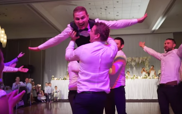Groom Surprises Audience With Special Performance During Wedding