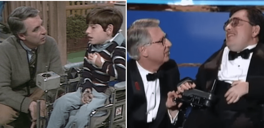 Quadriplegic Boy Meets Fred Rogers 20 Years Later His Speech Brings Everyone To Tears