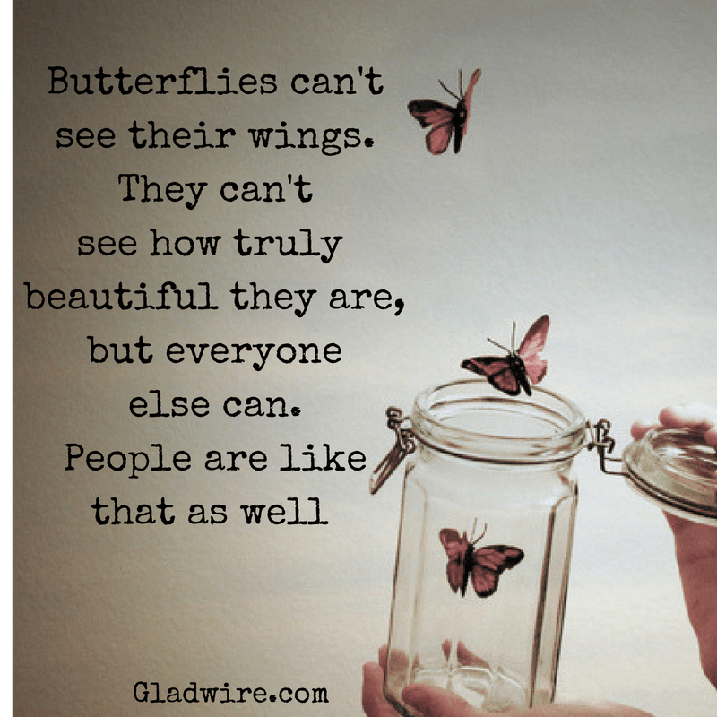 Butterflies and people