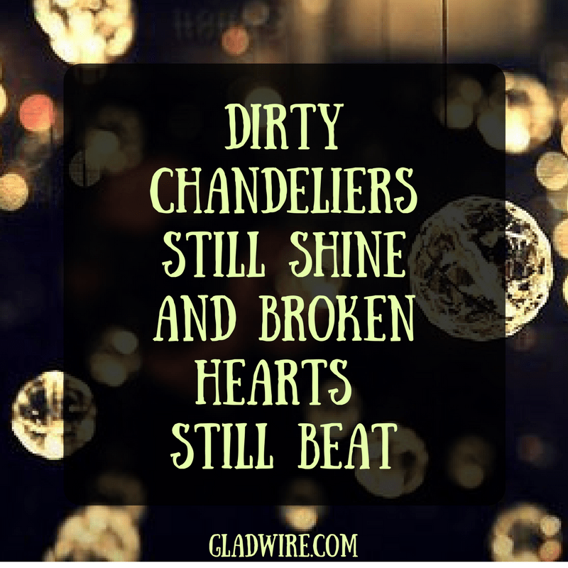 Chandeliers And Hearts