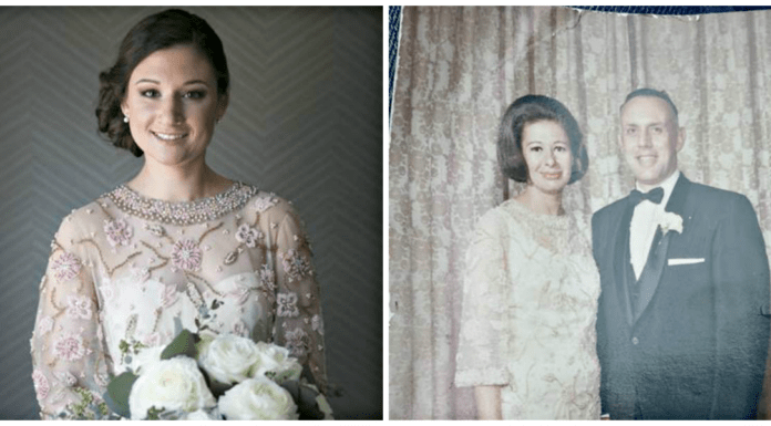 madison never met grandmother but wore her dress on her wedding day